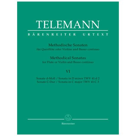 Telemann, G.P.: Methodische Sonaten - Band 6