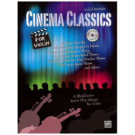 Matejko, V.: Cinema Classics (+CD)