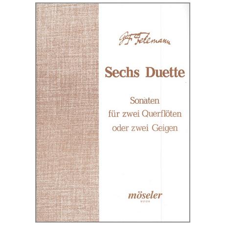 Telemann, G. P.: 6 Duette