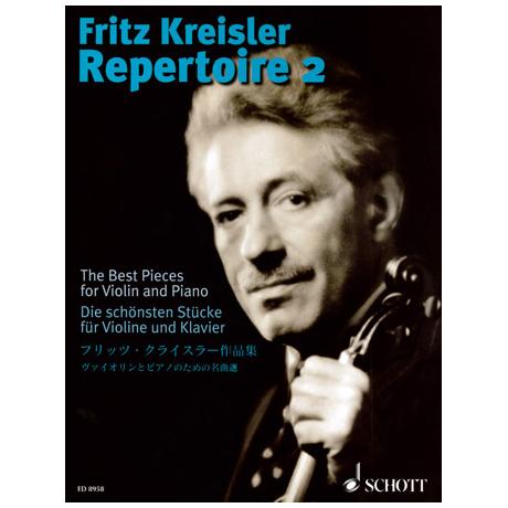 Fritz Kreisler Repertoire - Die schönsten Stücke Band 2