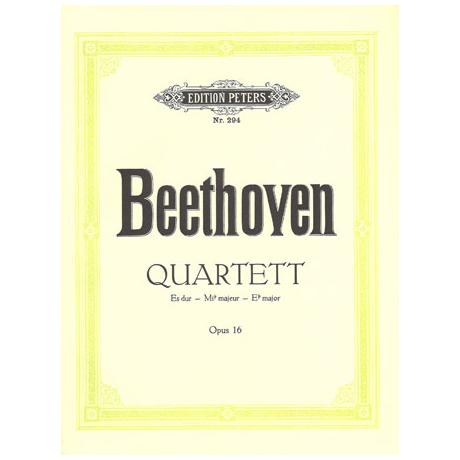Beethoven, L. v.: Klavierquartett Es-Dur, Op. 16