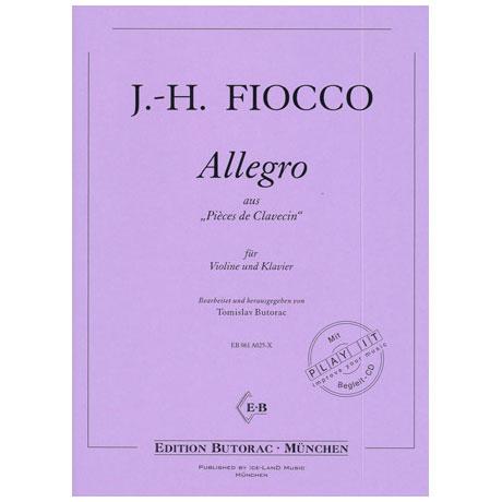 Fiocco, J-H.: Allegro (+CD)
