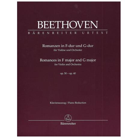 Beethoven, L.v.: Romanzen in F-Dur und G-Dur op. 50 und op. 40