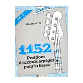 Pernette, Alain: 1152 Positions d'accords