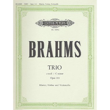 Brahms, J.: Klaviertrio Nr. 4 c-moll, op. 101
