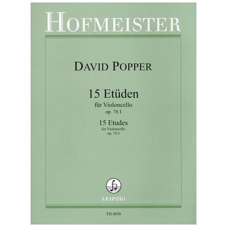 Popper: 15 Etüden op.76 Nr.1