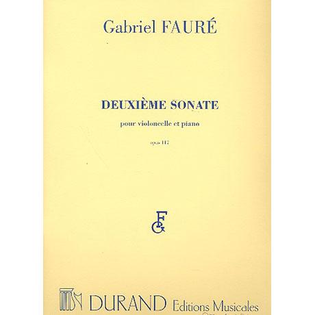 Fauré, G.: Sonate Nr. 2 Op. 117