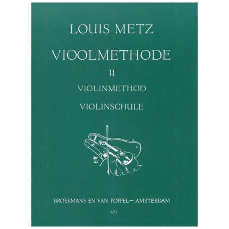 Metz, Louis: Violinschule Band 2