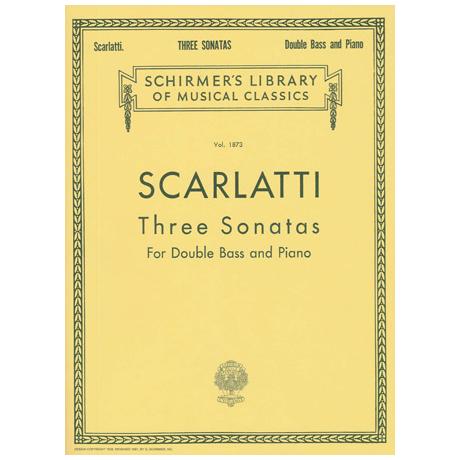 Scarlatti: 3 Sonatas