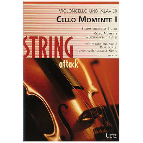 König, M.: Cello Momente I