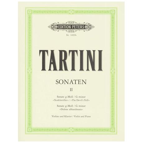 Tartini, G.: Sonaten Band 2 g-moll