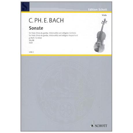 Bach, C. Ph. E.: Violasonate g-Moll