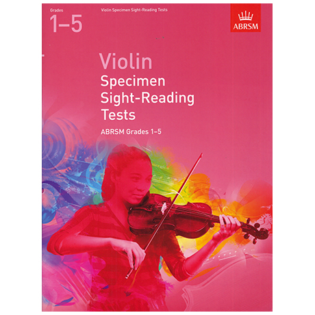 ABRSM: Violin Specimen Sight-Reading Tests - Grades 1-5 (From 2012)