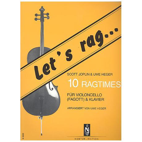 Heger, U./Joplin, S.: Let's rag: 10 Ragtimes