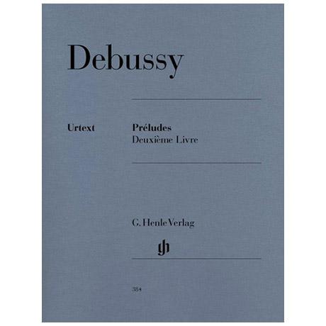 Debussy, C.: Préludes 2e livre
