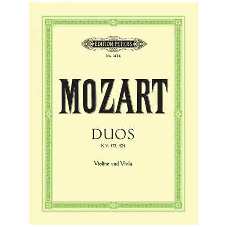 Mozart, W.A.: 2 Streichduos KV 423, 424