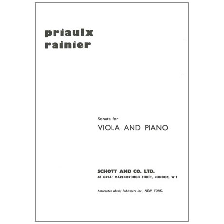 Rainier, P.: Sonata