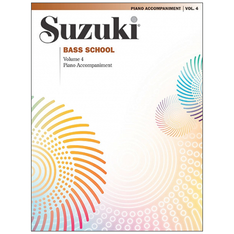 Suzuki Bass School Vol.4 – Piano Accompaniment