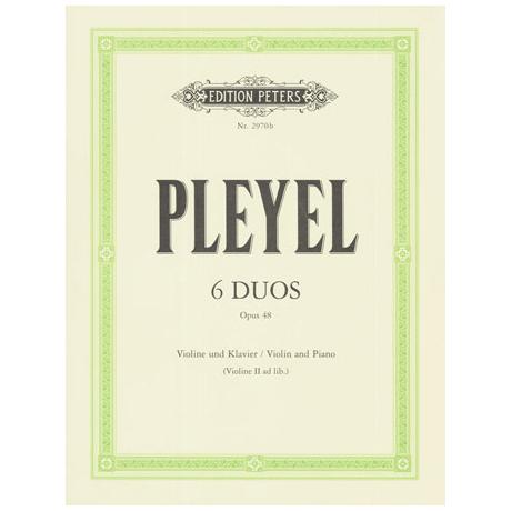 Pleyel, Ignaz Joseph: 6 kleine Duos op.48