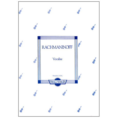 Rachmaninow, S.: Vocalise
