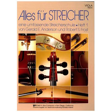 Alles für Streicher - Schule Heft 1