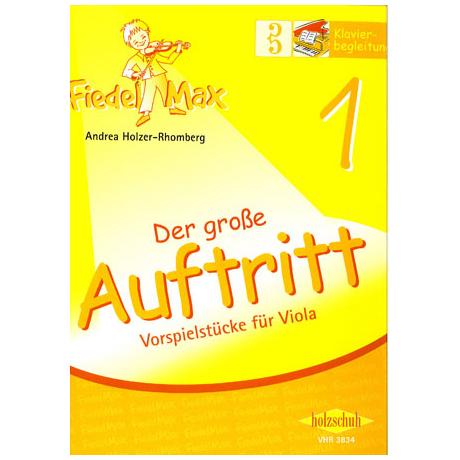 Holzer-Rhomberg, A.: Fiedel-Max. Der große Auftritt 1 für Viola – Klavierbegleitung