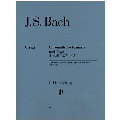 Bach, J. S.: Chromatische Fantasie und Fuge d-Moll BWV 903/903a