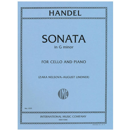 Händel, G.F.: Sonate in g-moll