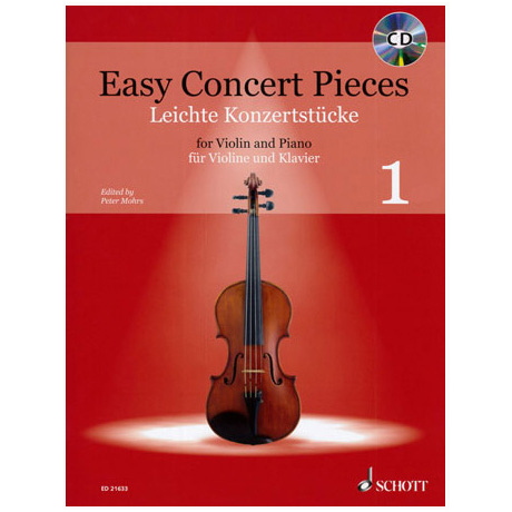 Mohrs, P.: Easy Concert Pieces Band 1 (+CD)