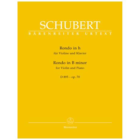 Schubert, F.: Rondo in h-Moll D 895 Op. 70