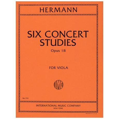 Hermann, F.: 6 Konzert-Etüden op. 18