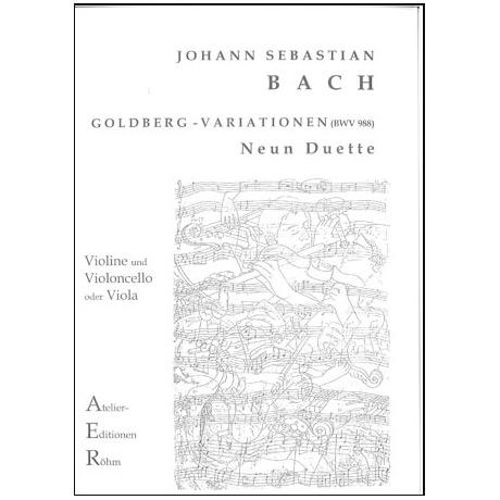 Bach, J.S.: Aria und 9 Variationen (Goldberg-Variationen)