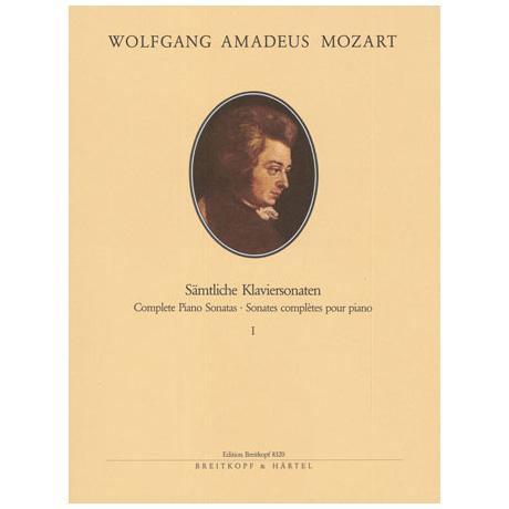Mozart, W. A.: Klaviersonaten Band I Nr. 1-10