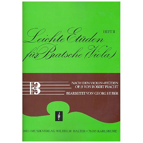 Pracht, R.: Leichte Etüden nach den Violinetüden Op.15 Band 2
