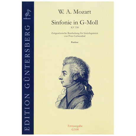 Mozart, W.A.: Sinfonie in G-Moll KV 550