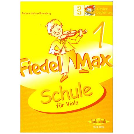 Holzer-Rhomberg: Fiedel - Max für Viola - Schule 1