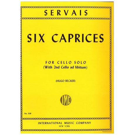 Servais, A.-F.: 6 Capricen op. 11