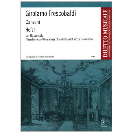 Frescobaldi, G.: Canzonen Band 1