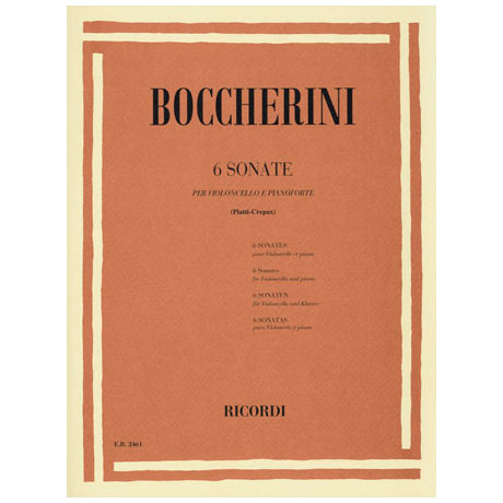 Boccherini, L.: 6 Sonaten