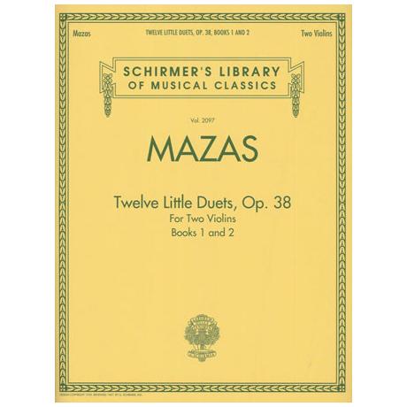 Mazas: Twelve Little Duets Op.38 Band 1 & 2