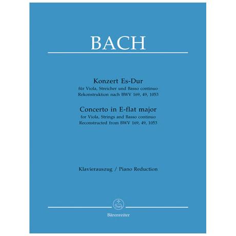 Bach, J.S.: Violakonzert in Es-Dur
