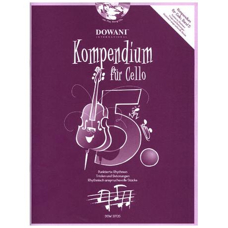 Kompendium für Cello - Band 5 (+ 2 CD's)