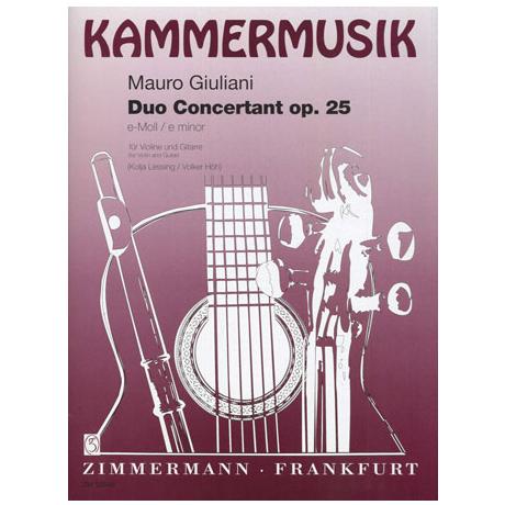 Giuliani, M.: Duo concertante e-Moll Op.25