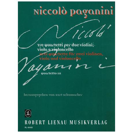 Paganini, N.: Quartett Nr.3