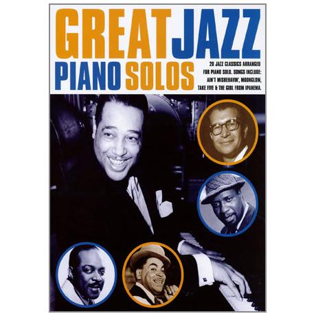 Great Jazz Piano Solos