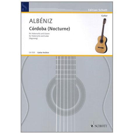 Albéniz, I.: Córdoba (Nocturne) Op.232, aus »Chants d'Espagne«