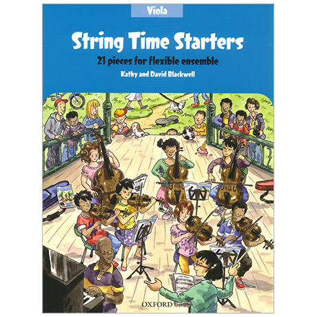 Blackwell, K. & D.: String Time Starters – Viola (+Online Audio)