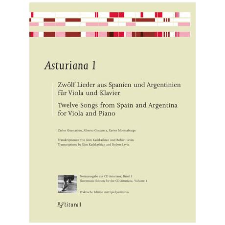 Asturiana 1 – Zwölf Lieder aus Spanien und Argentinien