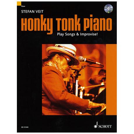 Veit, Stephen: Honky Tonk Piano - Play Songs & Improvise!