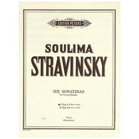 Stravinsky, Soulima: 6 Sonatinen für junge Pianisten Band I